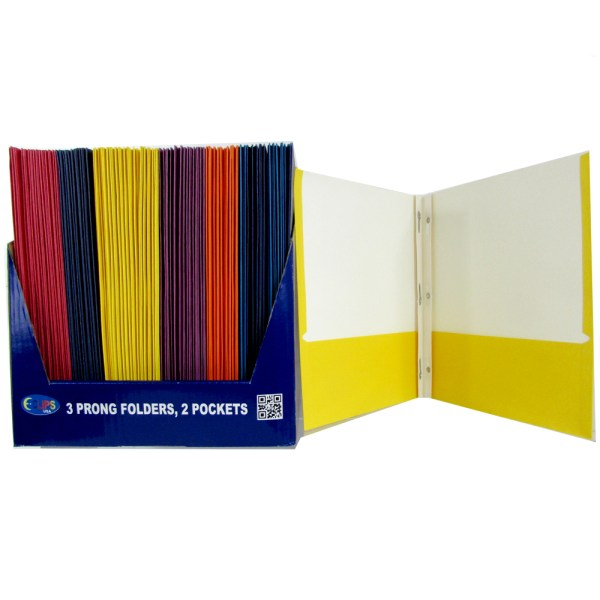 Twin Pocket Folders With Fasteners Sku 1857642