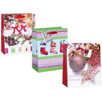 Wholesale Holiday Gift Bags Bulk Christmas Gift Bags