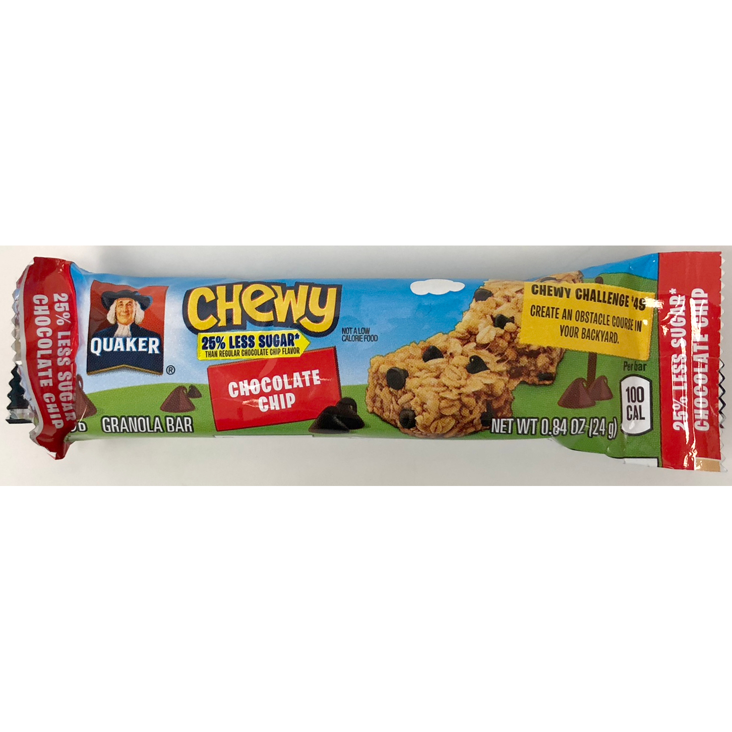 Wholesale Quaker Chewy Granola Bar Chocolate Chip Low
