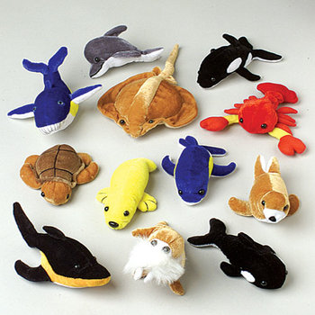 Wholesale Stuffed Sea Animals Bulk Plush Fish Turtles