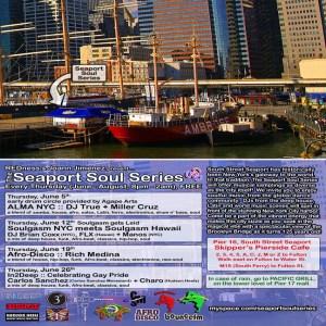 FLX @ Seaport Soul Series 6/12