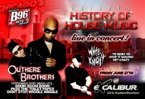 EXCALIBUR - Outhere Brothers & White Knight Live in Concert, 6/27