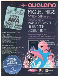 Miguel Migs w/ Lisa Shaw & More @ Avalon this Saturday, 6/14