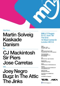 Friday 27th June 08: MN2S @ The End & AKA - London