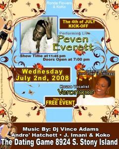 7/2 - Peven Everett Performing Live - Chicago