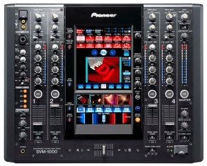 PIONEER SVM-1000 PROFESSIONAL REFERENCE DJ MIXER SEAMLESSLY BLENDS AUDIO AND VIDEO