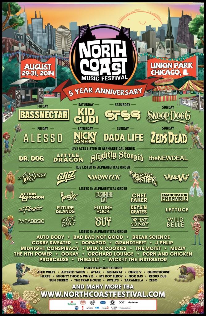 North Coast Music Festival 2014