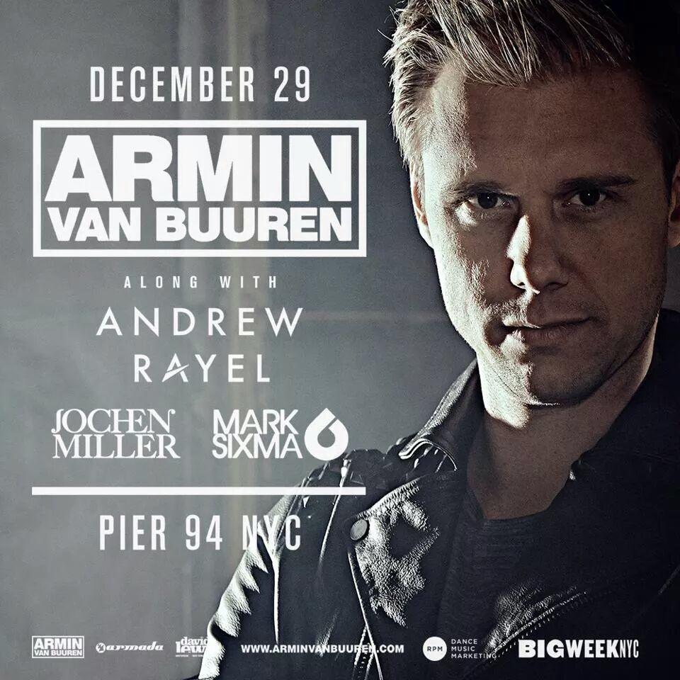Armin Van Buuren 12/29 PIER 94