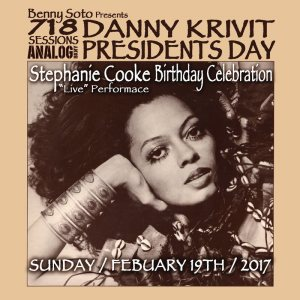 718 Sessions! Presidents Day Weekend 2017 w/Danny Krivit at Analog