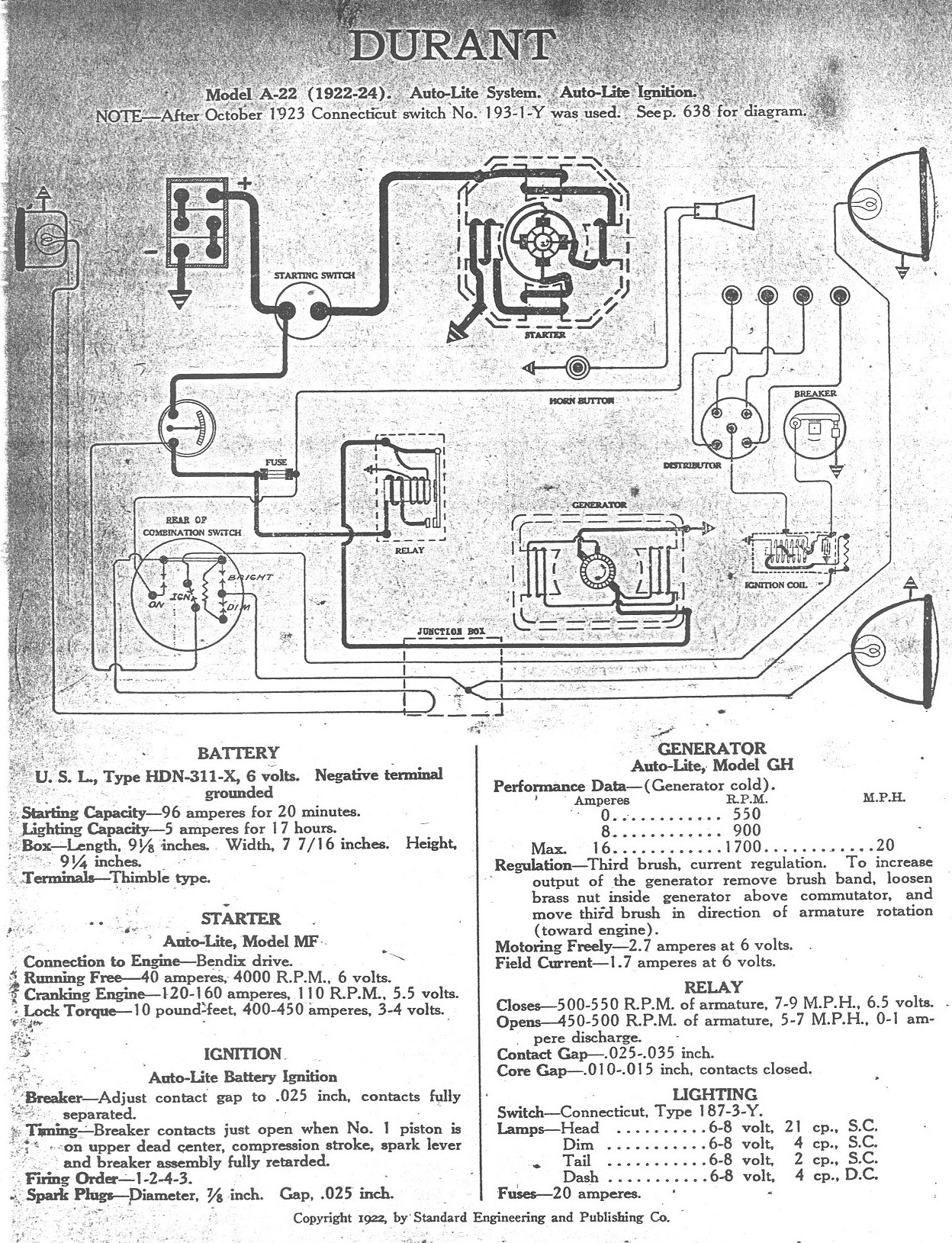 hight resolution of wiring diagrams 1922 1929 rh dmacweb com
