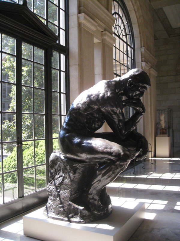 Baltimore Museum of Art The Thinker Auguste Rodin