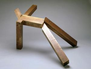 Joel Shapiro, Untitled, 1981-1984, Dallas Museum of Art, gift of Exxon Corporation