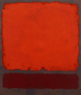 Mark Rothko, Orange, Red and Red, 1962