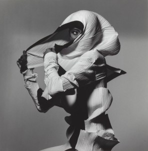 Irving Penn, Issey Miyake Fashion: White and Black, 1990, Smithsonian American Art Museum, gift of The Irving Penn Foundation