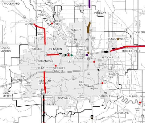 Maps | Des Moines Area MPO