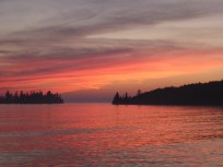 Sunset, Grace Harbor, Isle Royale