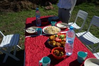 Picnic in Atlas Mountains