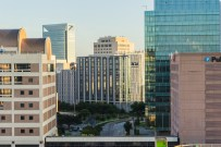 Research centers and clinics at MD Anderson