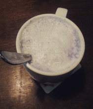 RESTAURANT TRIPS: GREEN GROTTO, MISSISSAUGA | Warm your stomach with a cup of hot taro milk tea.