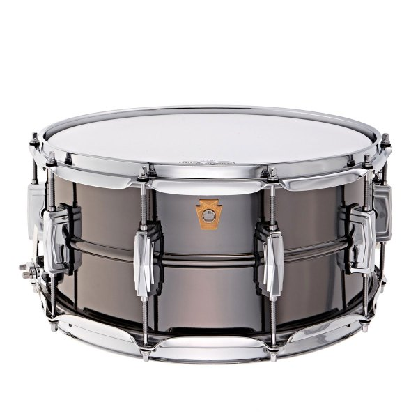 Ludwig Black Beauty snare drum 14 x 6.5