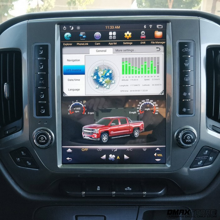 Phoenix 121 Android 71 Vertical Touch Screen Navigation Radio 2015 2018 Silverado Amp Sierra