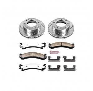 PowerStop Duramax Performance Brake and Rotor Kits (2001