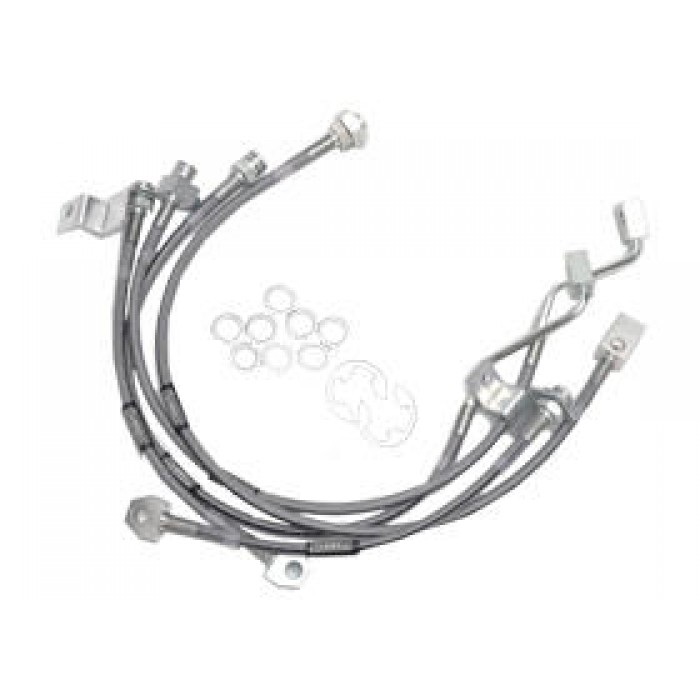Russell-Stainless Steel Brake Lines For 4