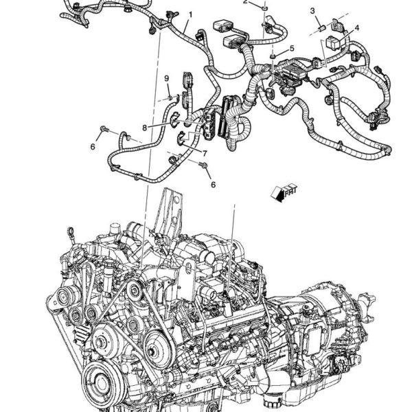 Upper Engine Harness