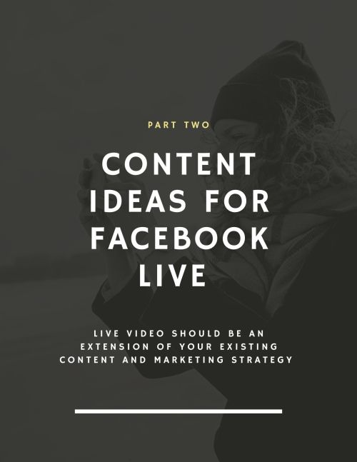 DM Burton Facebook Live for business Guide Page 8