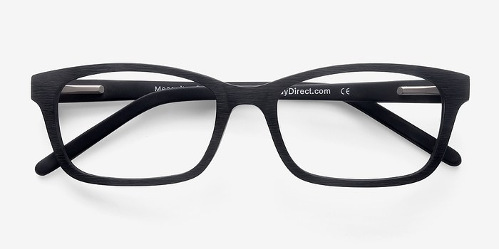 Mesquite Matte Black Acetate Eyeglasses EyeBuyDirect