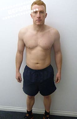 Ian Malarkey Before DMC Fitness Personal Training