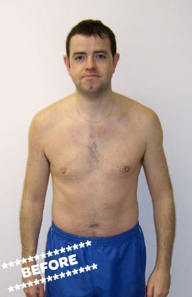 Billy Smith Before DMC Fitness Personal Training