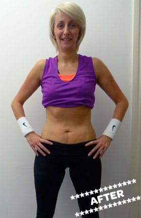 Sheena Costello After DMC Fitness Personal Training