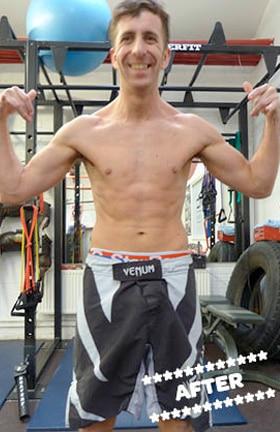 Stuart Davie After DMC Fitness Personal Training