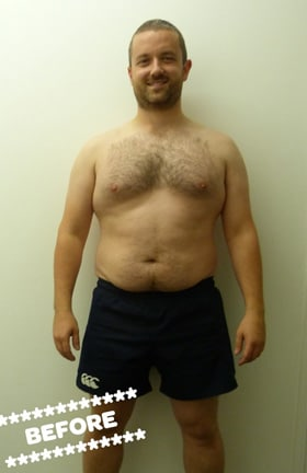 Barry Martin Before DMC Fitness Personal Training