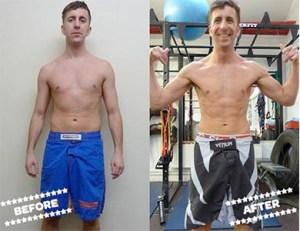 Stuart D before & after