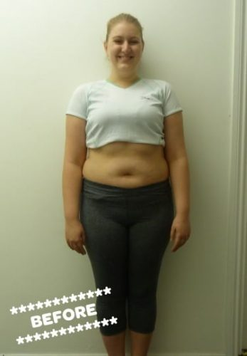 Ashlee before weight loss