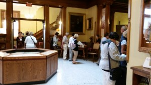 Visitors enjoy the Heritage Center Museum