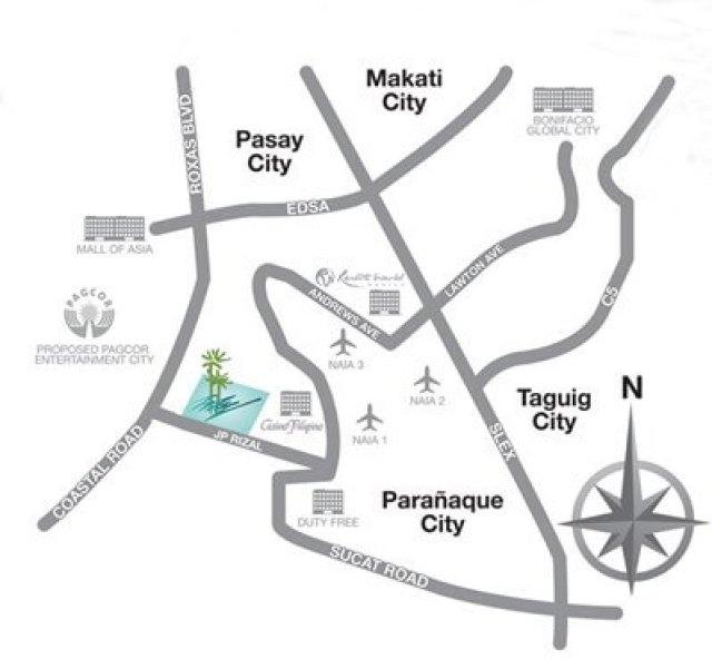 Arista Place Location Map