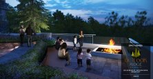 outlook ridge residences fire pit condo for sale
