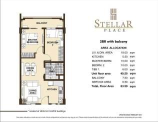 STELLAR PLACE 2BR
