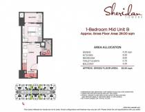 sheridan towers 1 bedroom B