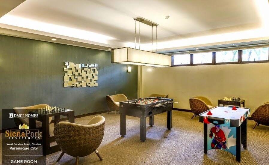 Siena Park Residences Game Room