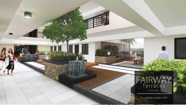 Fairway Terraces Atrium Garden