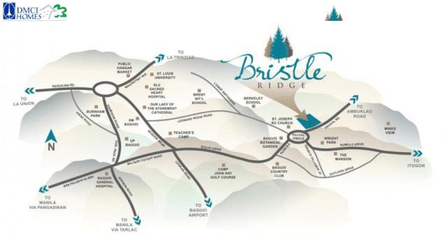 Bristle Ridge DMCI Location Map BAguio