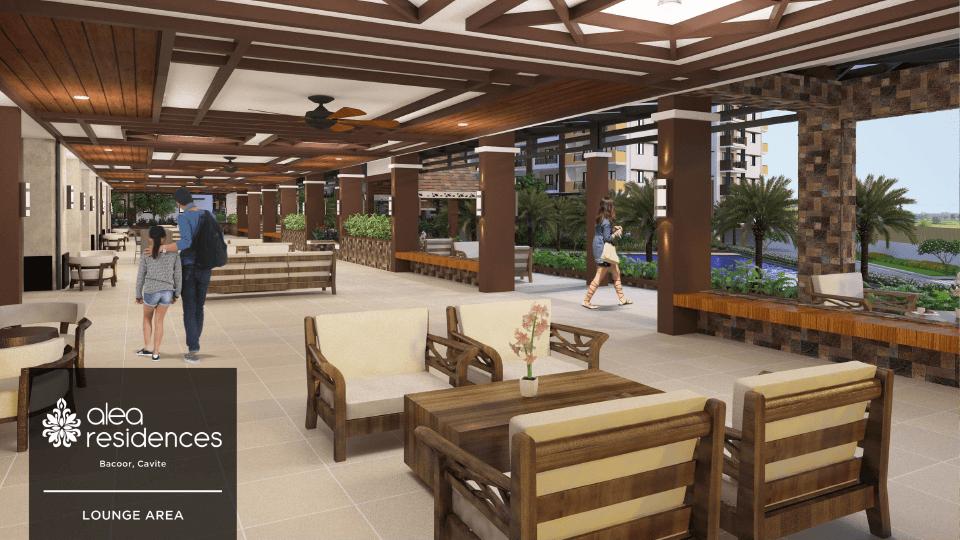 Alea Residences Lounge Area 1