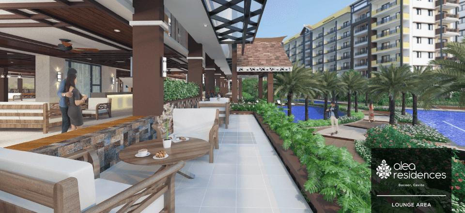 Alea Residences Lounge Area