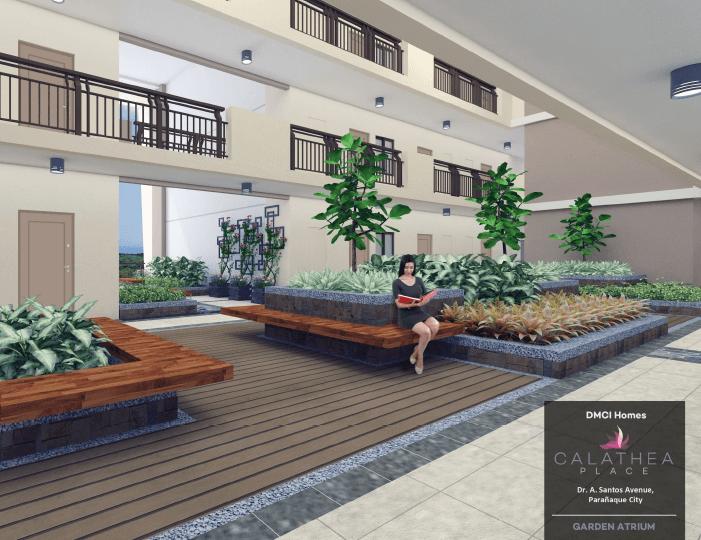 Calathea Place Atrium Garden