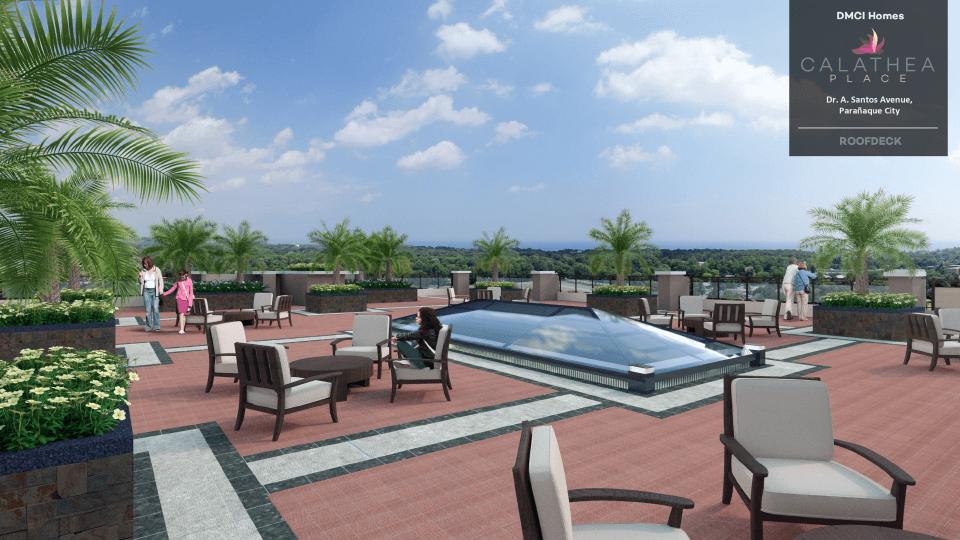 Calathea Place Roof Deck