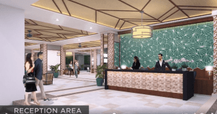 Reception Area Infina Towers